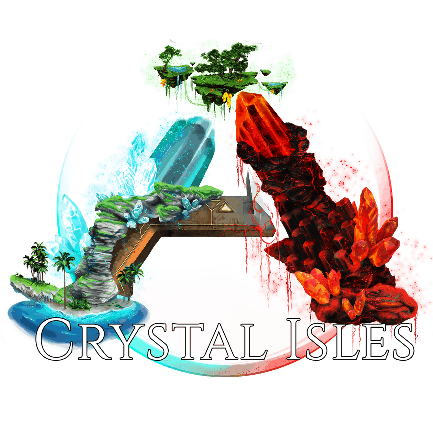 Image showing Crystal Isles DLC supported
